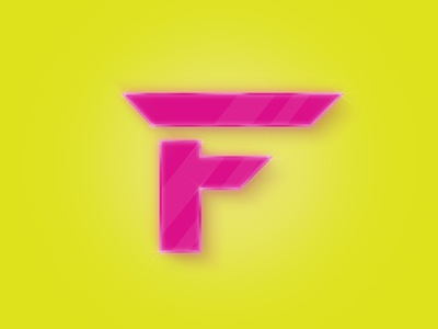 F by vannelope via dribbble