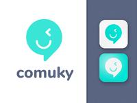 Logo app - comuky