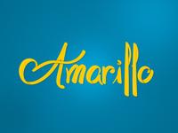 Amarillo Lettering