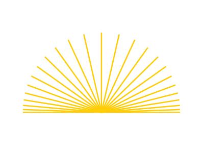 Sunrays artmemos sunshine radial yellow graphicdesign logodesign sun rays illustration illustrator radialpattern sunrays