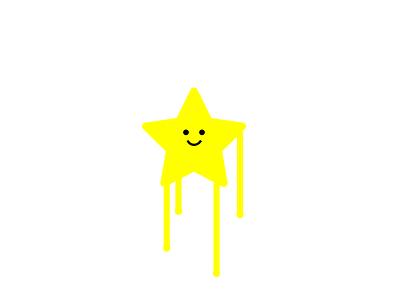 Happy star artmemos cute yellow happy xmasdesign xmas cutestar christmas happystar yellowstar drippystar star
