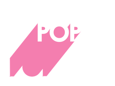 Pop 80svibe artmemos popprint 3dtype poptype springvibe fresh retro 80s pink popart pop