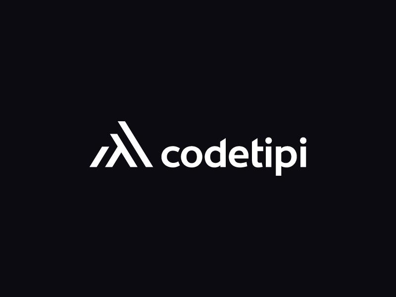 Codetipi logo teepee tepee tipi wordpress themes brand identity logo design