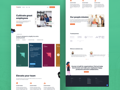 Product page - HR Software brand ux home abheist abhishek akss29 design product design product page products product hrms hr software hr