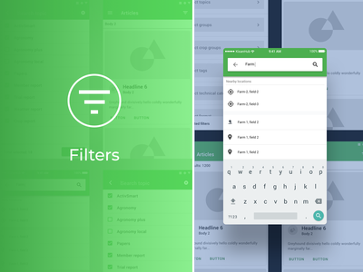 Search, filters and nearby filter filtering filters field notes uxui fields field farmers market farmers farming farmer ux design farm design app ux  ui uxdesign designs designer ux design