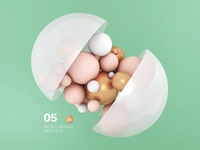 Geometric objects 03 for C4D