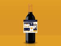 Chilean Wine Label