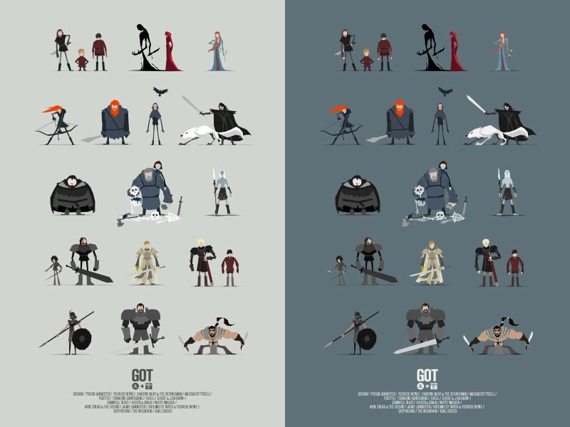 GoT Character Poster I