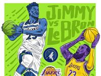 Jimmy v. LeBron