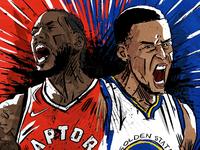 Leonard v Curry: NBA finals 2019