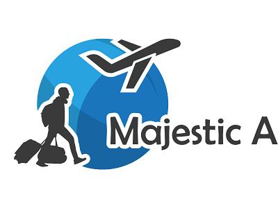 Majestic Air logo design logos logo