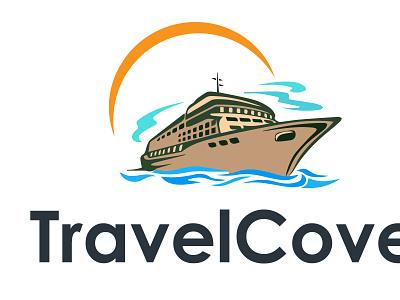 TravelCove logos logo design logo