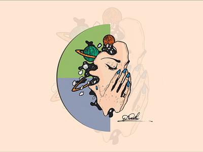Earth and Soul digital illustration digital painting digital art digitalart vector illustration vector art vectorart vectors vector illustration illustrations illustrator illustration art illustraion
