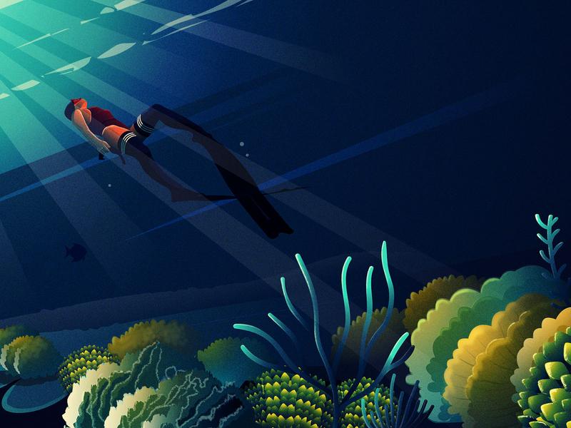 Adventure series animation vector love art adventure 2d art illustrator flat design series illustration