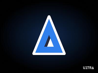 Icon for Ultra triangle icon logo vector