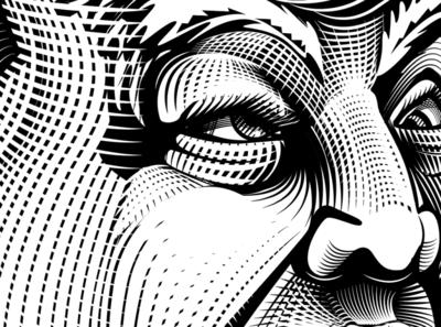 CrazyEyes vector illustration