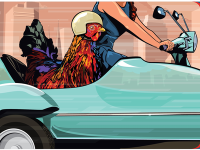 Sidecar illustration