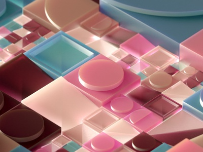 Generative Composition 002 illustration motiongraphics 3d animation shystudio motiondesign animation houdini cgi 3d art 3d