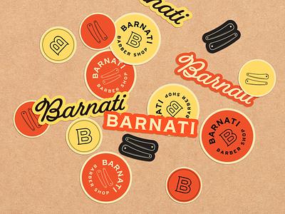 Barnati Barber Shop | Visual Identity visual identity brand identity brand design haircut beard barbers barber barber shop logotype branding design