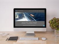 Loch Swim Alba Website design branding minimal wix web website design website