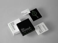 Tea Boutique packaging product wix logo illustrator icon minimal design branding
