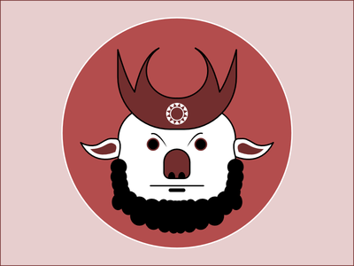 Frequent Drawing Series - 04 beard drawing illustration face