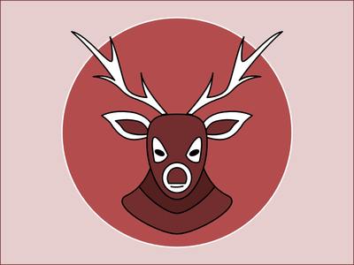 Frequent Drawing Series - 05 drawing icon illustration deer