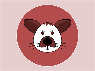 Frequent Drawing Series - 06 drawing face illustration rat