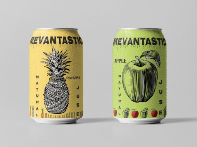 drink can design illustration branding design