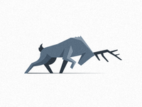 Deer /Illustrative Icon