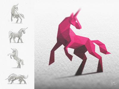 Licorne Rose / Pink Unicorn