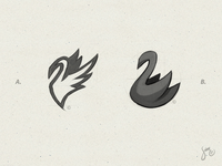 Swan | Logo Sketches