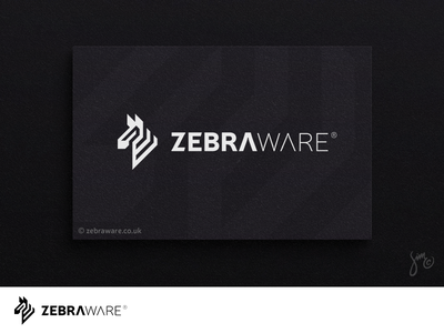 Zebraware | Logo design minimal black and white geometric nature animal design stripes engineering engineers software logo design brand identity zebra logo zebra