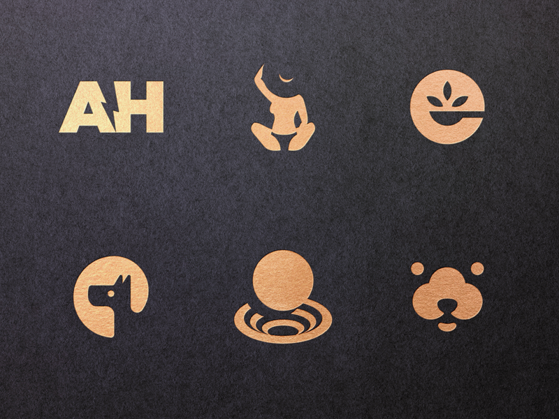 21 Negative Space Logos Behance Project By Simc On Dribbble