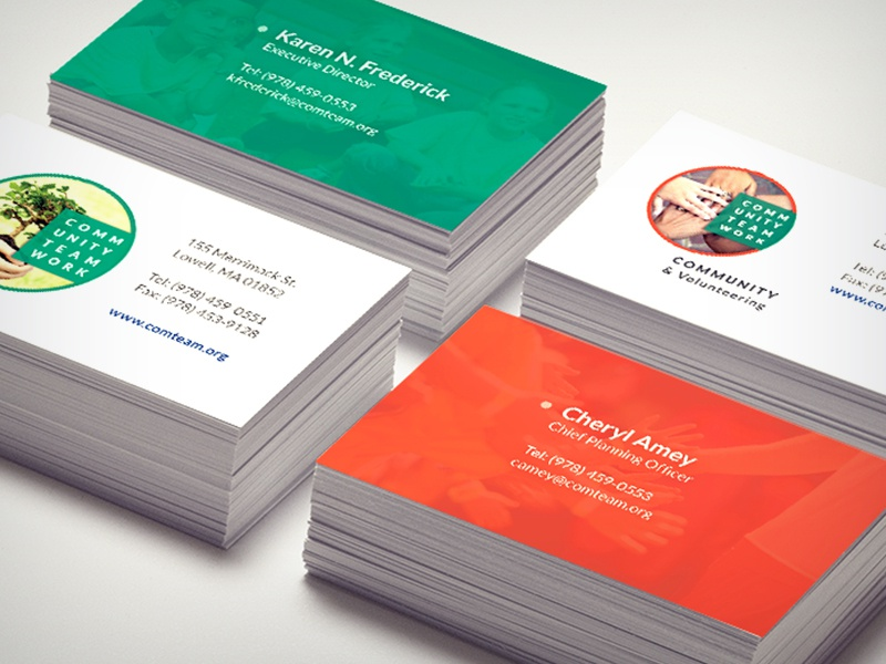 Community teamwork nonprofit business cards by figmints dribbble dribbble cti business cards colourmoves