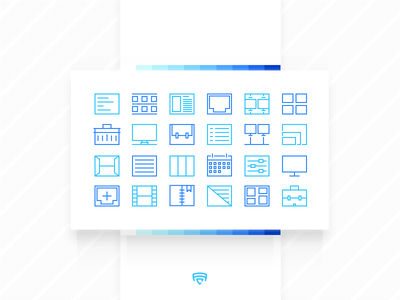 Drull .ai pack icons application iphone ios line stroke icon