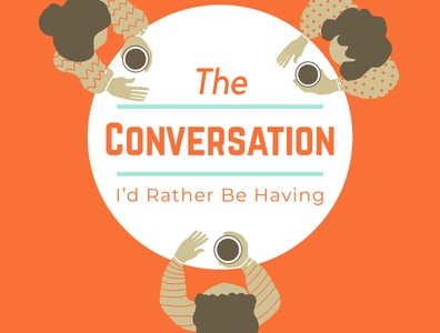 The Conversation I'd Rather Be Having design logo design illustration logo