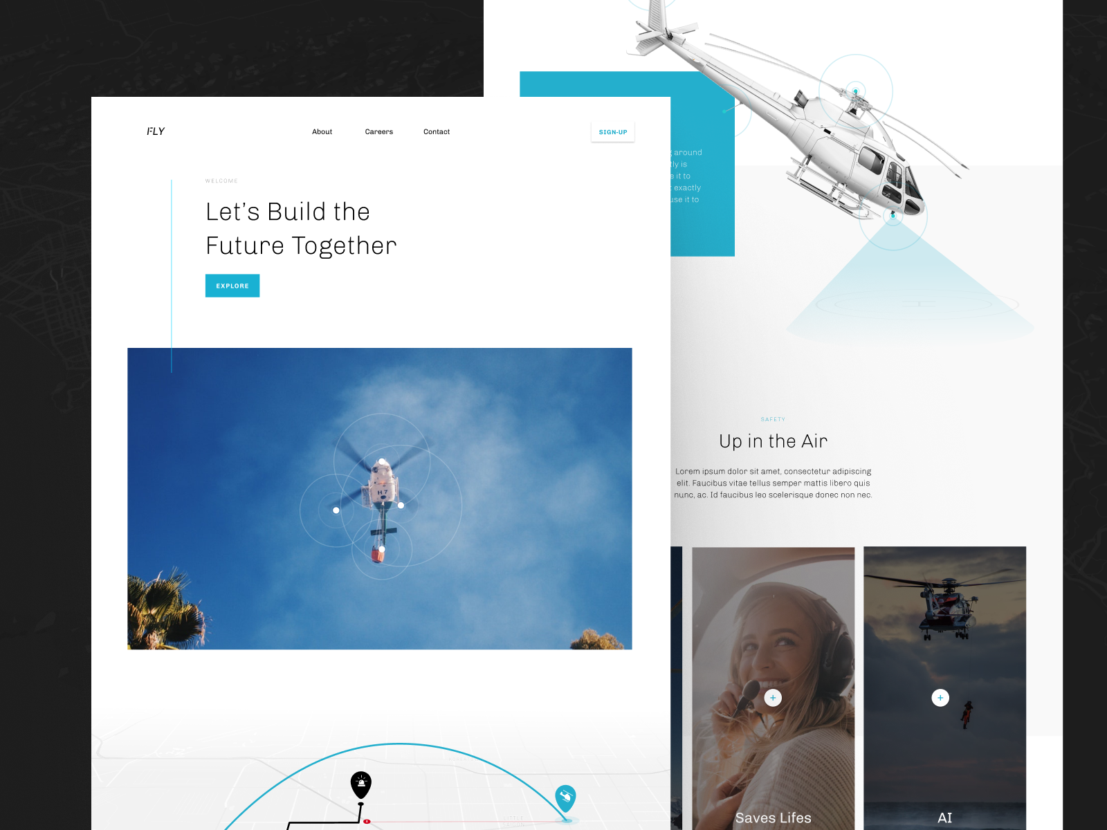 FLY - Frontpage Webdesign