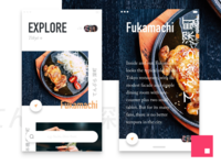 InVision Studio - Food Explore (Android P)
