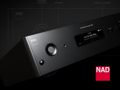 NAD C368 UX/UI Classic Line