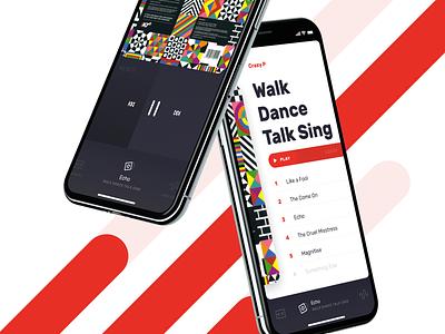Audio Player UI hamburg ui germany app music app sonos multiroom interface deezer tidal spotify iphone ios audio music