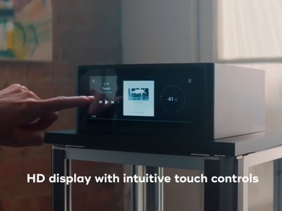 NAD M10 Amplifier UI/UX luxury spotify sonos music interface interaction ad ux amplifier