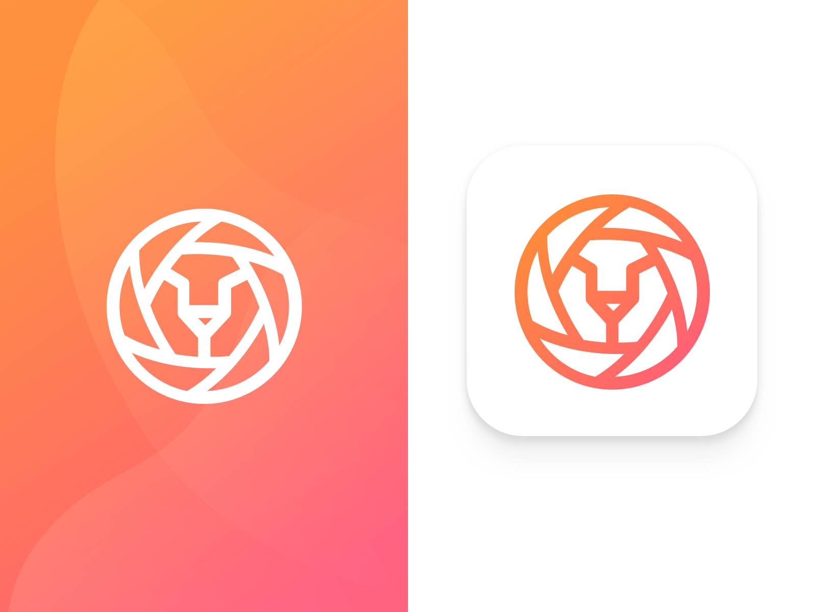 Note-Taking App: Lion App Icon