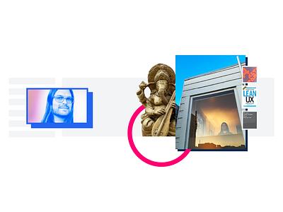 hello Travis! collage saas tech san francisco sip design