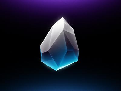 Pur Pur Glass Stone