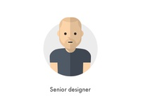 How should they look like: Senior designer