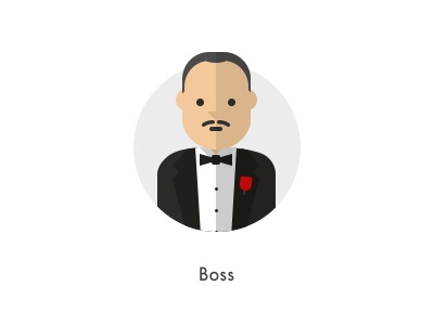 How should they look like: Boss flat boss mafia godfather vito corleone how they looks character jazzpixels icon circule