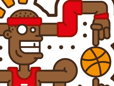 23 Smells Fresh basketball shit stickers 23 looney