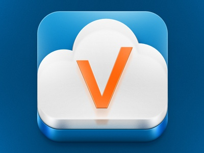 Active.by app icon icon application ios plastic glass