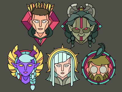 Silver Seekers dungeons  dragons dungeons dwarf necromancer wizard paladin bard tiefling barbarians orc human rogue dnd
